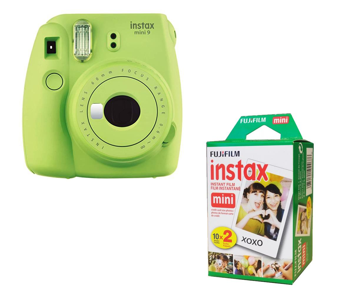 Fujifilm Instax Mini 9 Instant Camera With 20 Sheets Included