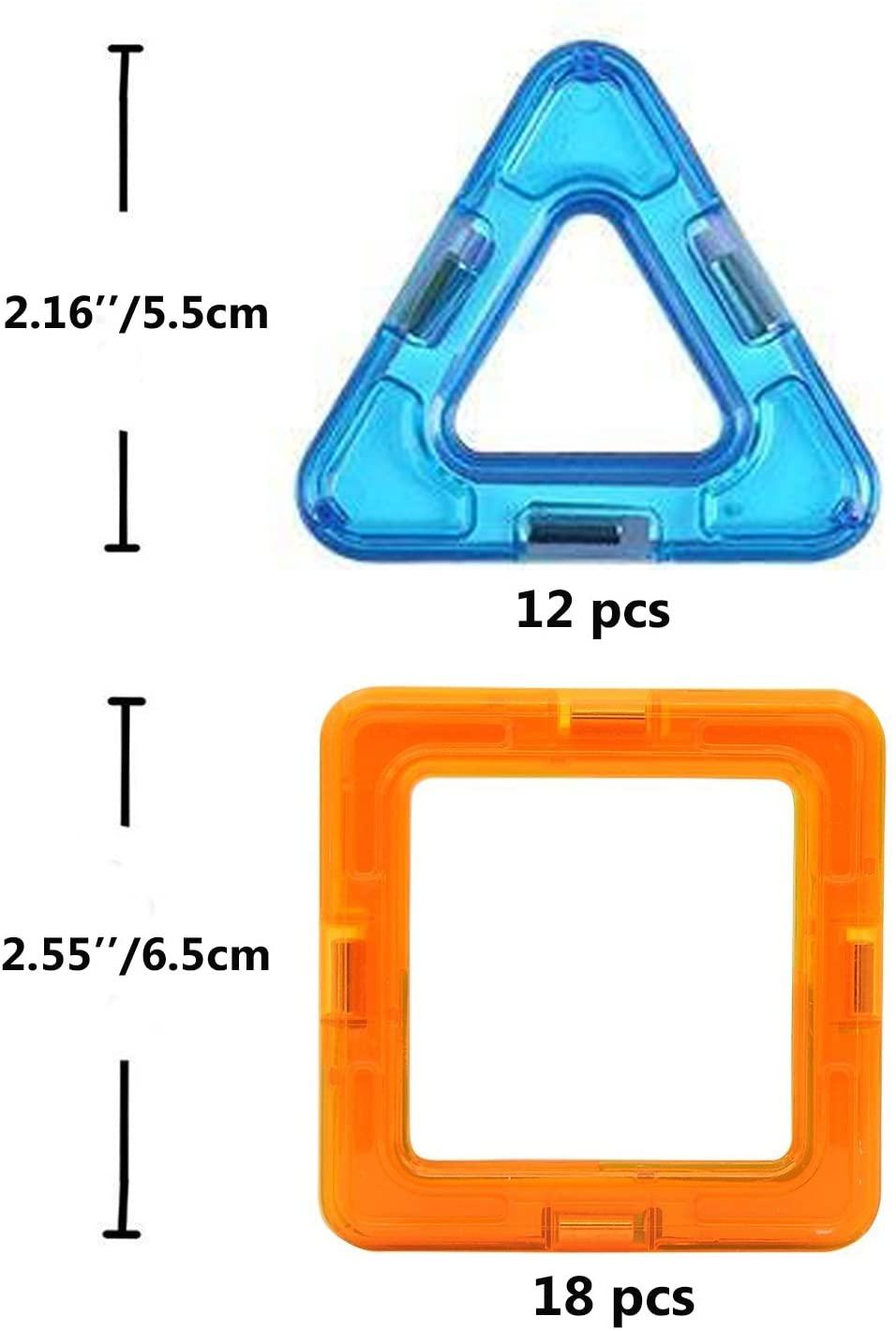 Magnetic Blocks Building, 30 Pcs,Creative and Educational Building Blocks