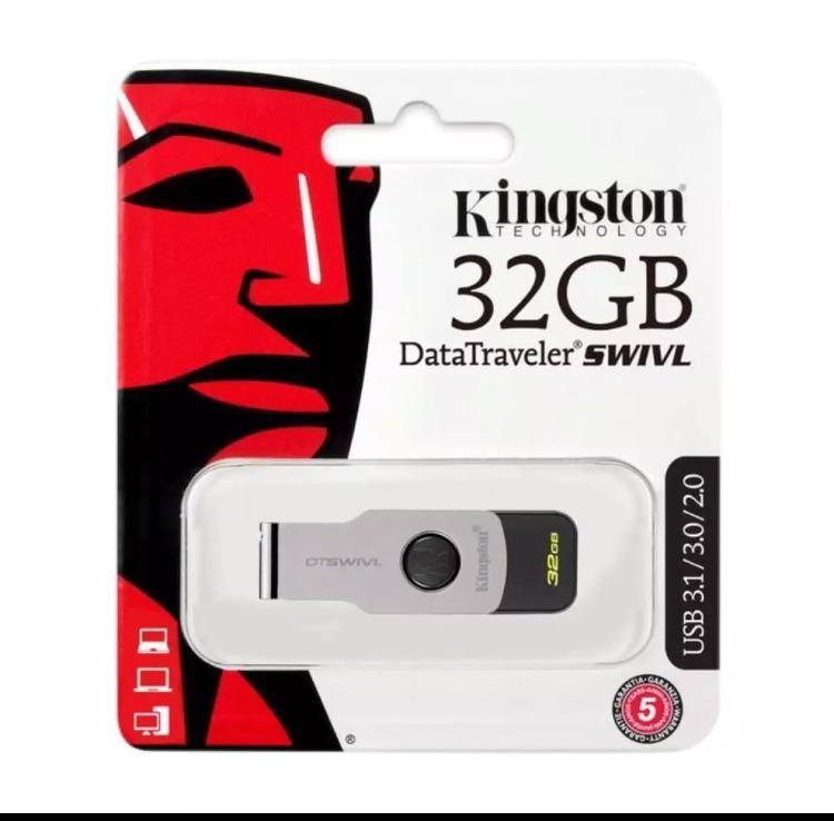 DT SWIVL USB FLASH DRIVE 32GB, 6 - Months WARRANTY