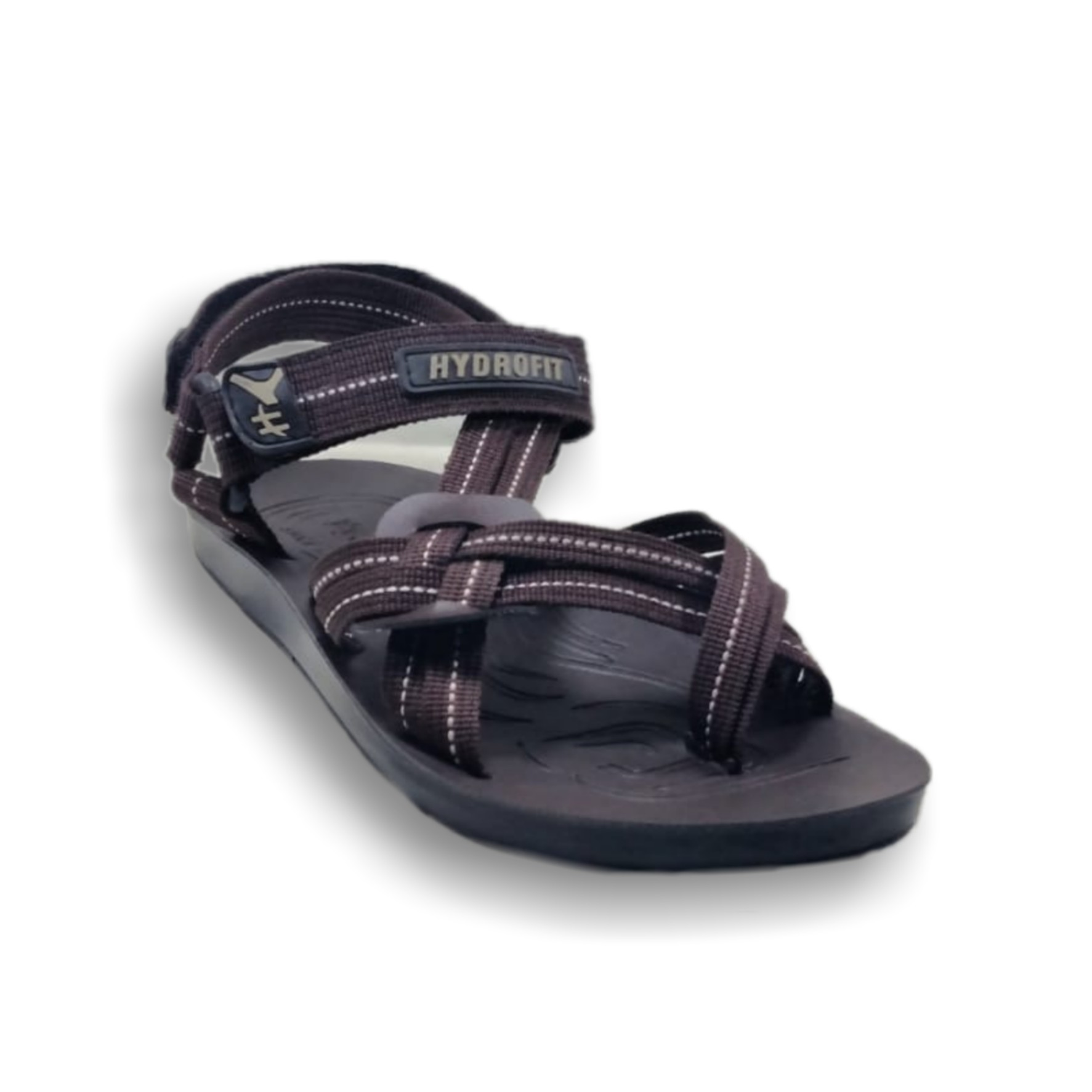 (MK) PU Washable Sandal - Blue and Brown Colour for Men
