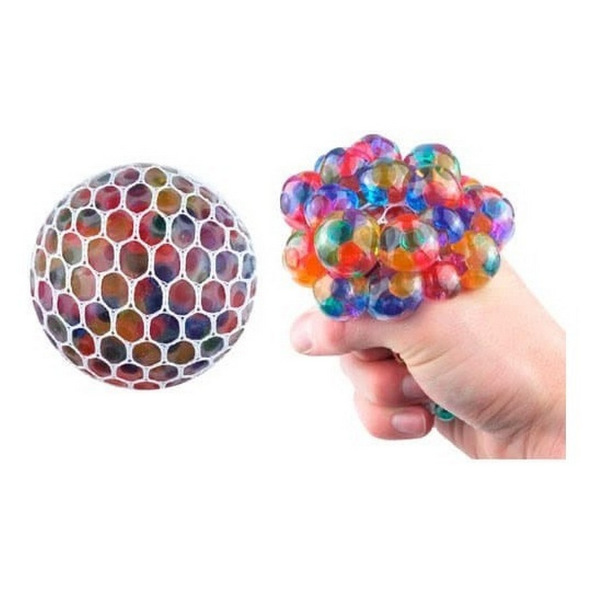 Magic Color Changeable Grape Mesh Squish Ball Stress Release Toy Squeezing Rubber Vent Grape Ball Hand Wrist Toy Multicolor FREE SHIPPING