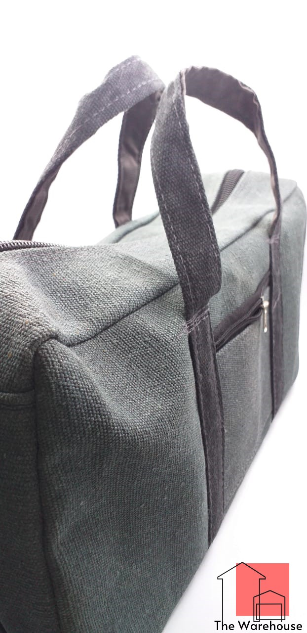Good Quality Portable Multi-function Canvas Gray Bag 14 Inch to 26 Inch Waterproof Storage Bag Hand Tool Bag Toolkit Case Tools Bag / tarpal