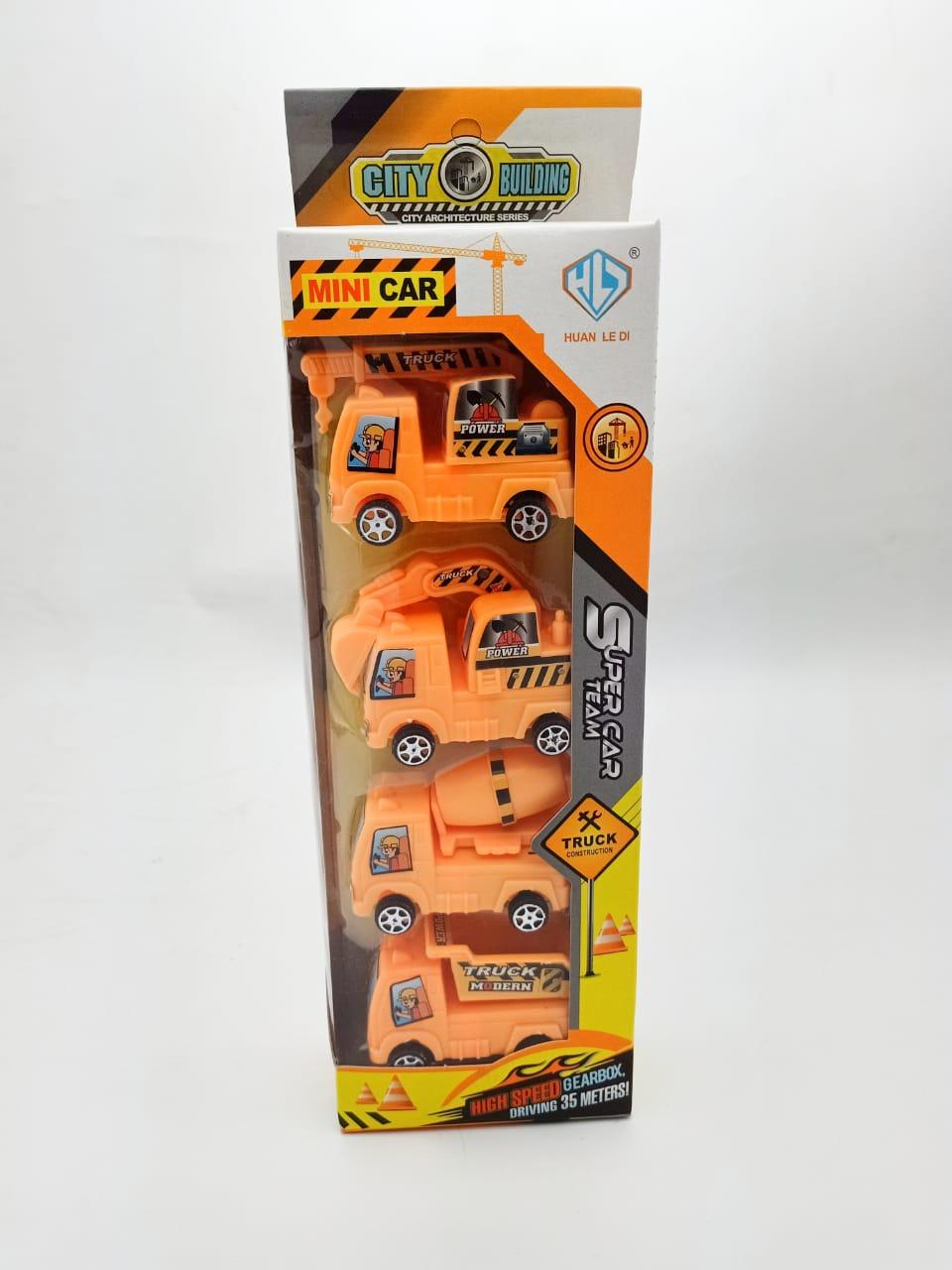 Mini City Building Cars ( Four Cars )