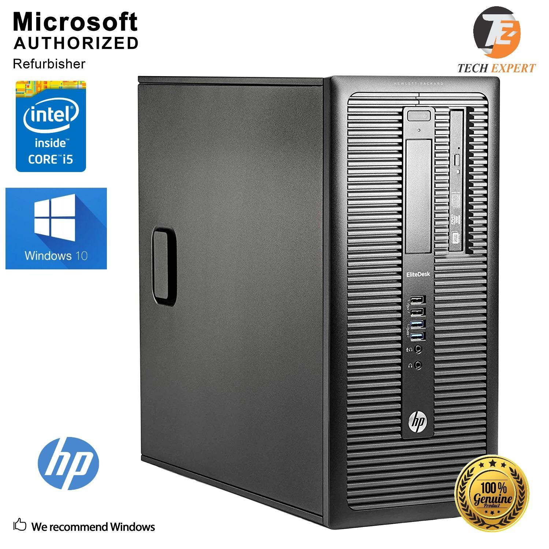 HP Elite Desk G1-600 Intel Core i5-4440 8GB, 360GB, Gaming PC Win10  Pro(Microsoft Certified)