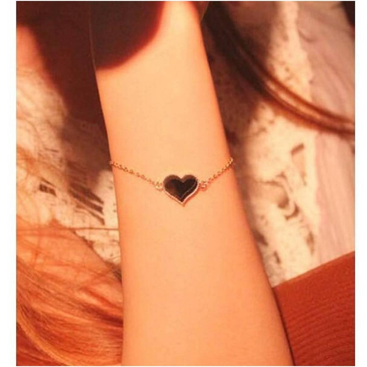 Heart Bracelets & Bangles For Women