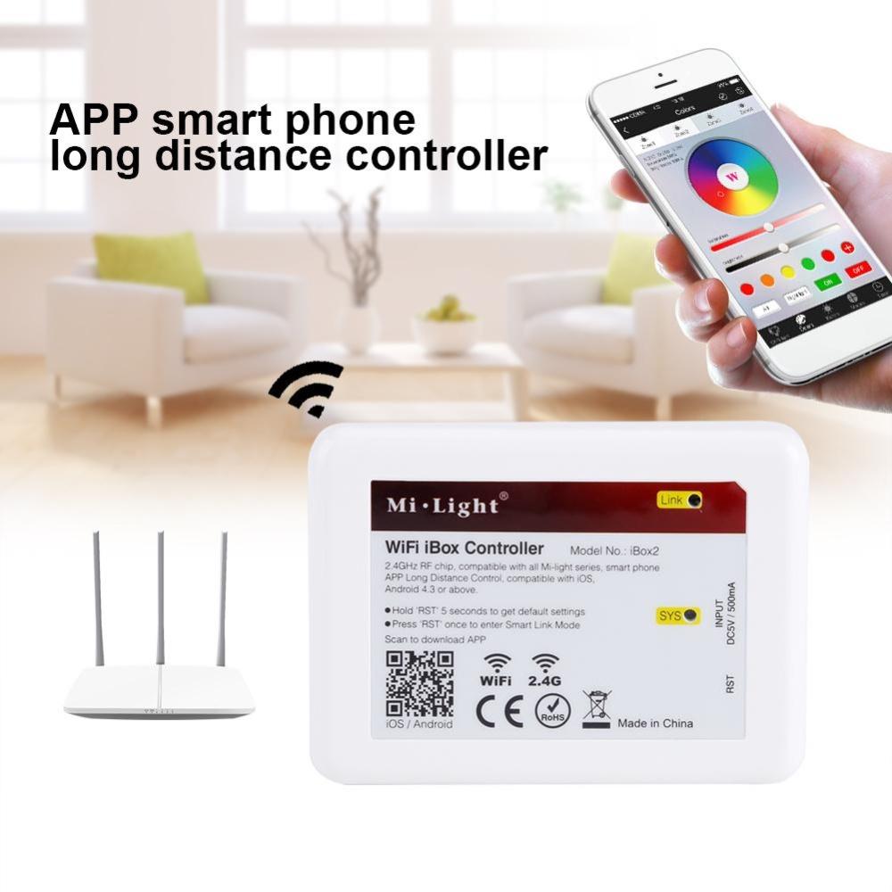 MiLight WiFi iBox Controller 2 4G Control Home Light
