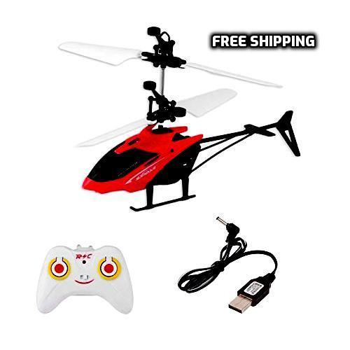 2 in 1 Remote Control and Sensor Helicopter with USB Cable For its lover