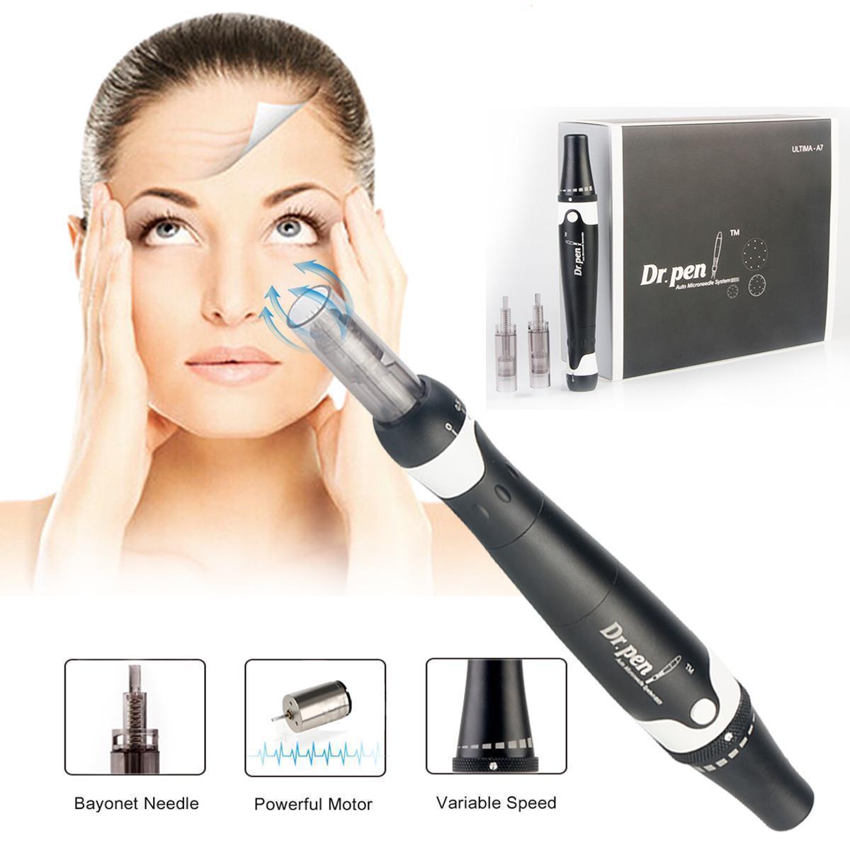 ULTIMA A7 Electric Derma Micro Needle Anti-Aging Pen