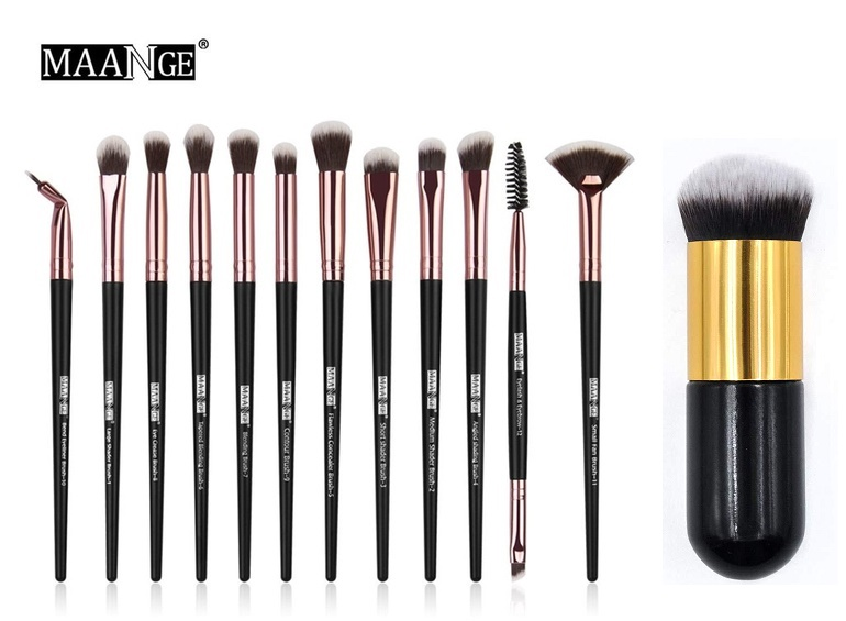 12 Professional Makeup Brush Set for Women Face Eye Eyeshadow Brushes Cosmetic Brush Tool