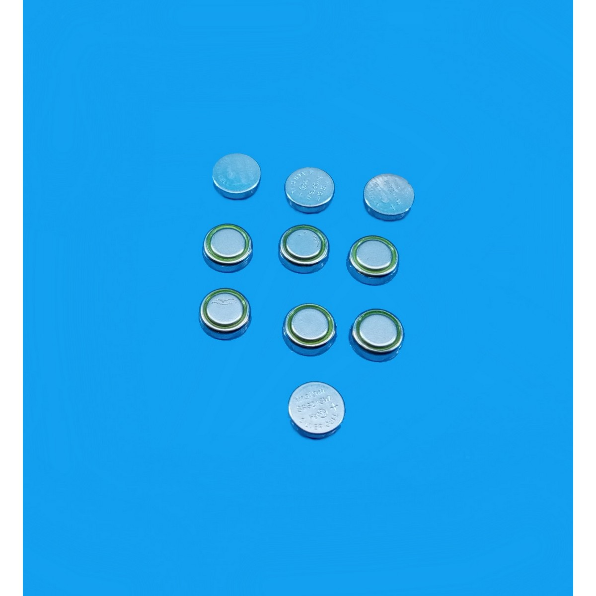 DreamsMart 10pcs SR621SW Alkaline 1.5V Battery Coin Button Cell for Wrist Watches, Small Toys, Remote Keys LR621, LR60, LR620, SW621, GP164, 364X, 364A