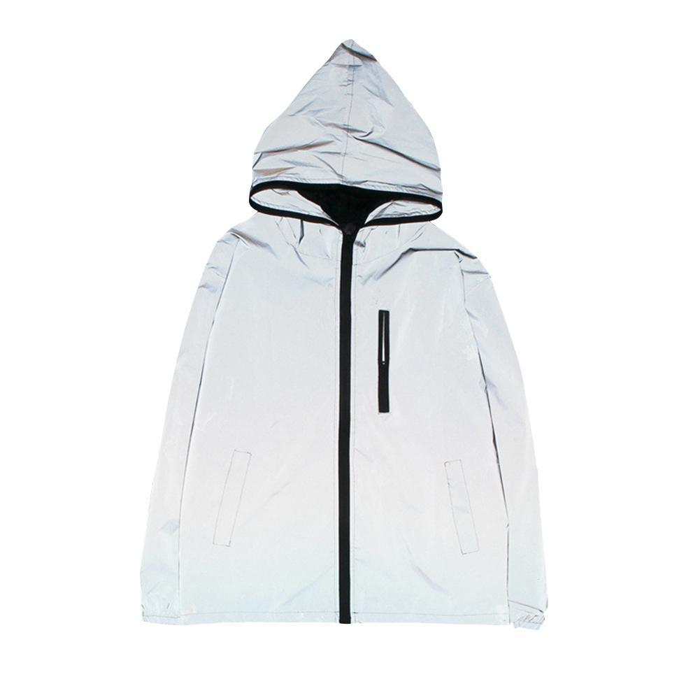 a83144a8c Women Men Waterproof Reflective Night Safe Jacket for Cycling Motorcycle