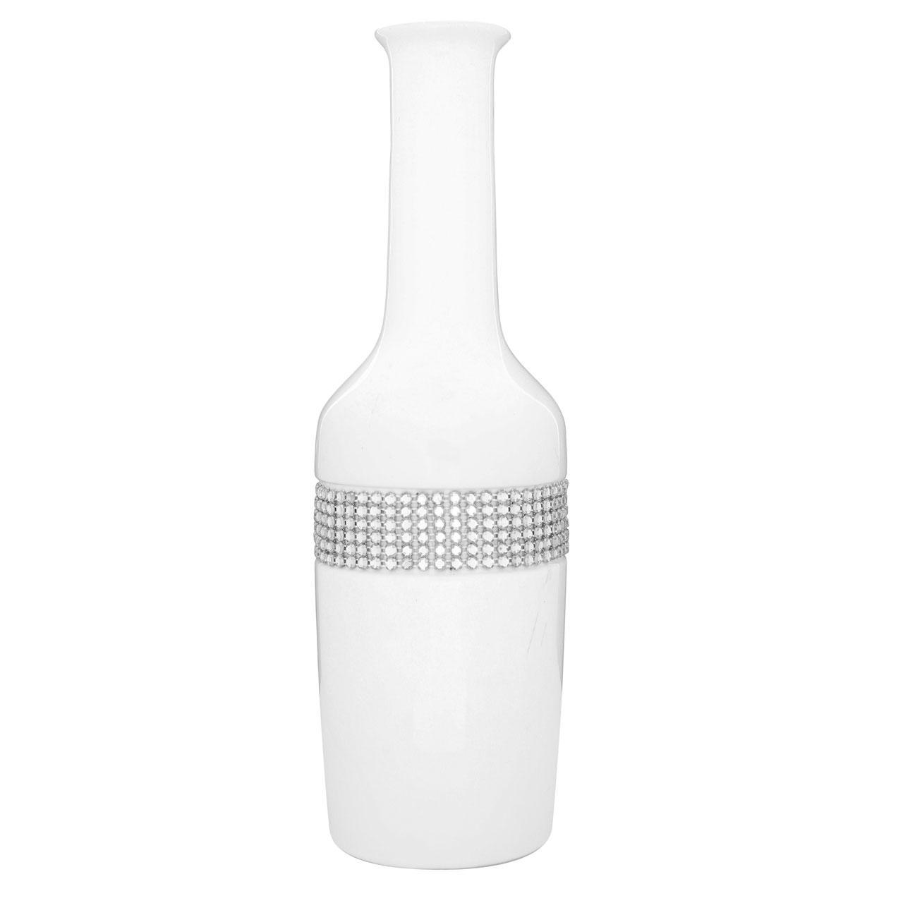 Radiance White Vase