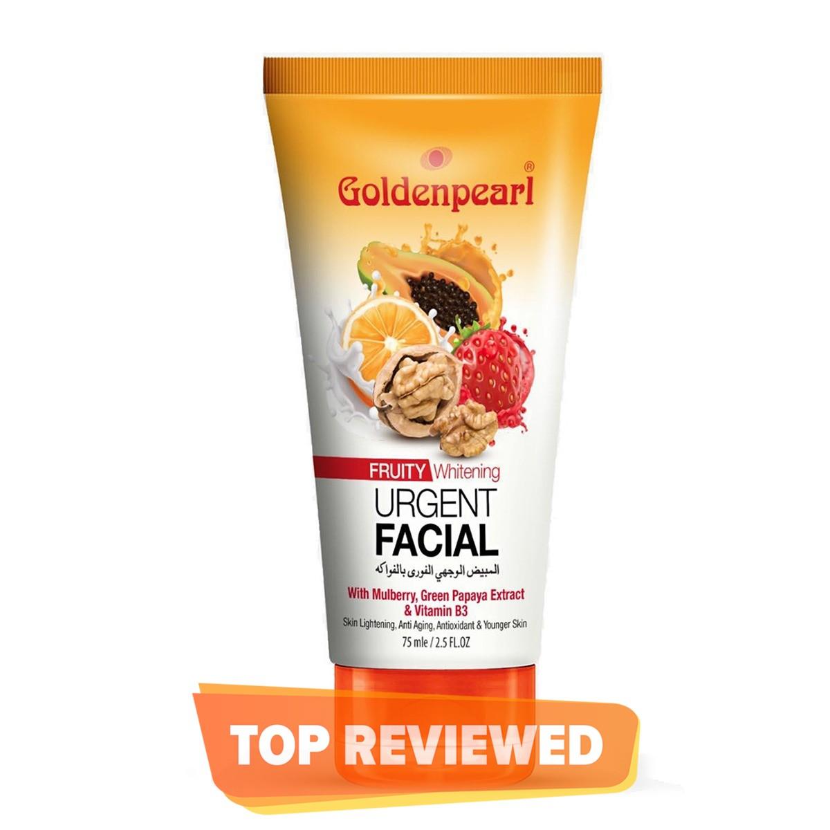 Golden Pearl Whitening Urgent Facial Fruity 75 ml tube