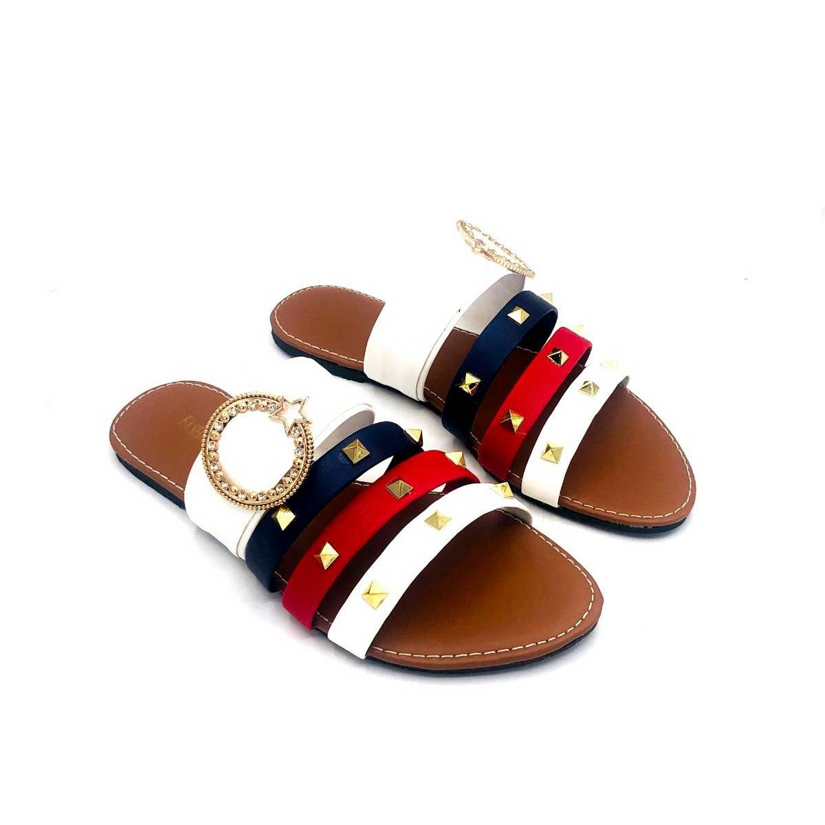 Stylish Multi Flat Indoor And outdoor  Slippers For Women And Ladies/Women Stylish Shoes/Softly Slippers For Women