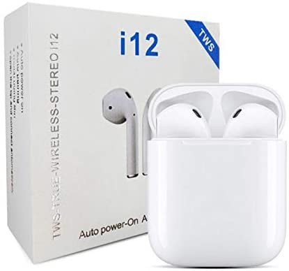 TWS i12 Airpods Wireless Bluetooth 5.0 Headset Earbud For All Mobile phone