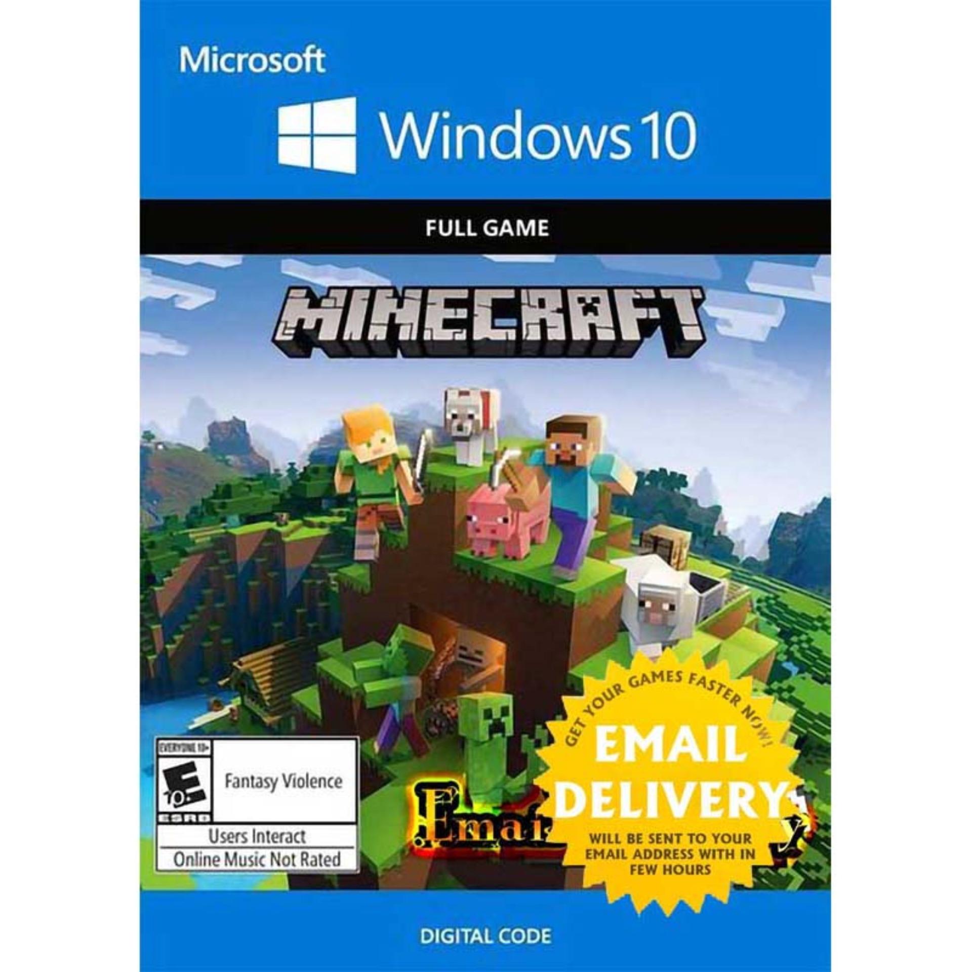 Minecraft Windows 10 Key