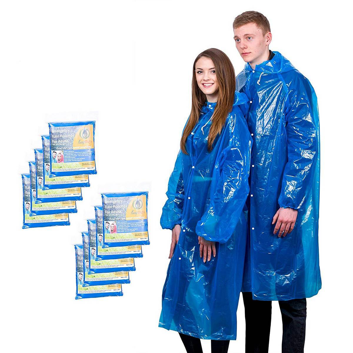 Impermeable Women/Men Long Raincoat Female Windbreaker Transparent  Waterproof  Rain Coat.