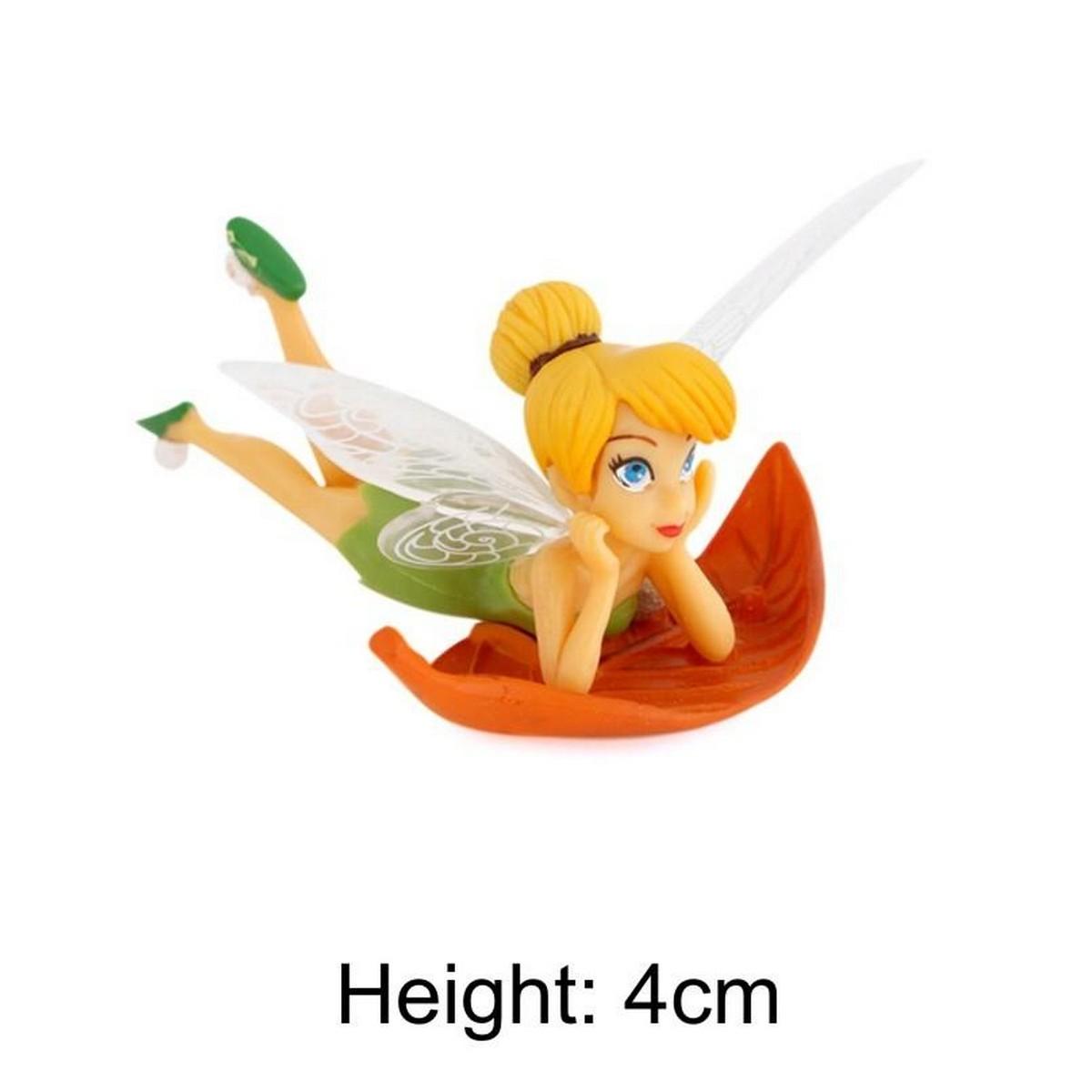 Tinker Bell Fairy Figures Miniature Garden Dollhouse Decor Doll Toy Gift