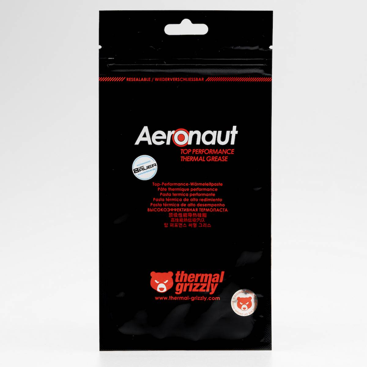 Thermal Grizzly Aeronaut Thermal Grease Paste - 8.5 W/mk 1g Heat Sink Compound