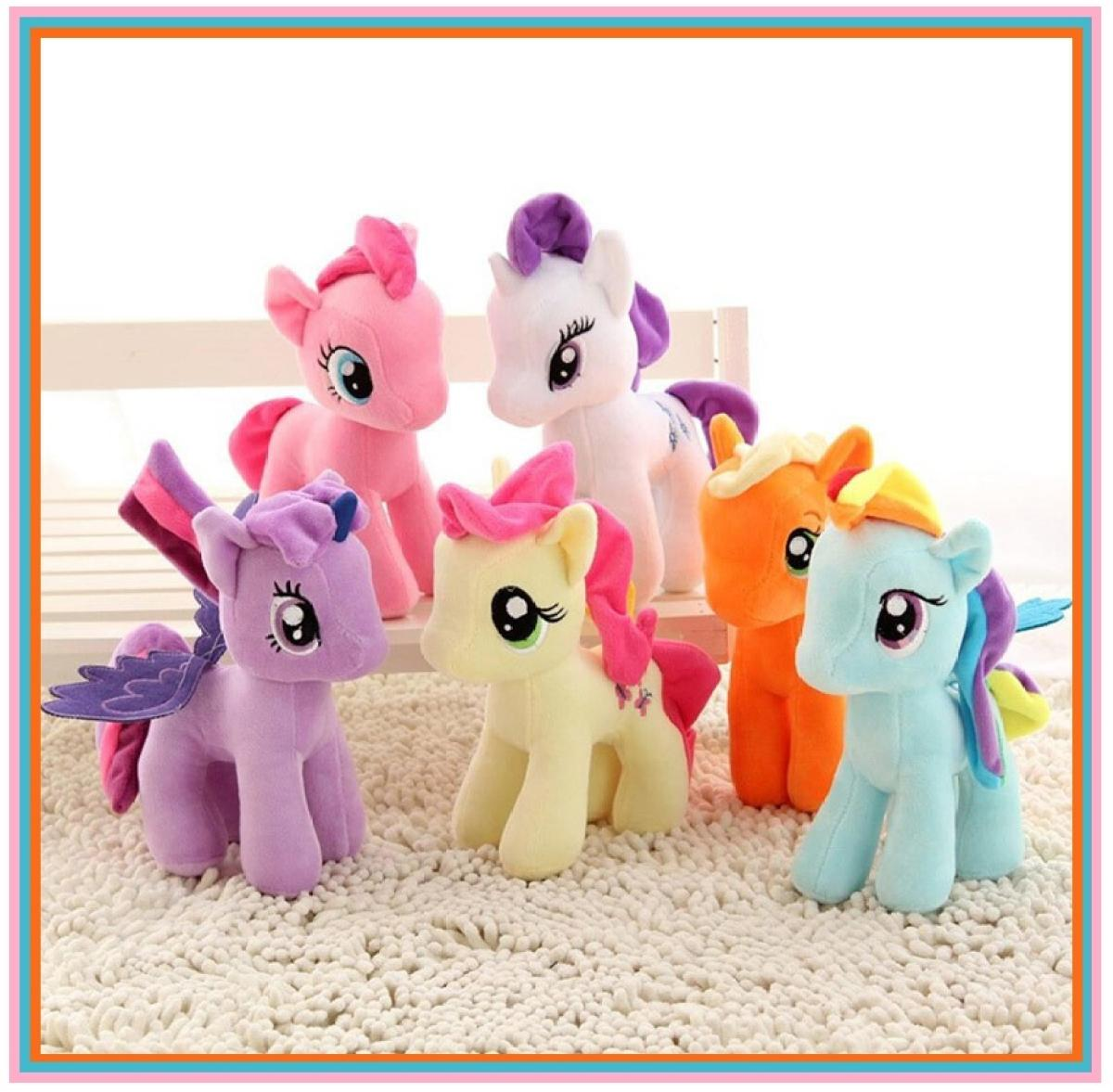 High Imported Quality Lovely Horse Pony Plush Doll Toys for Children