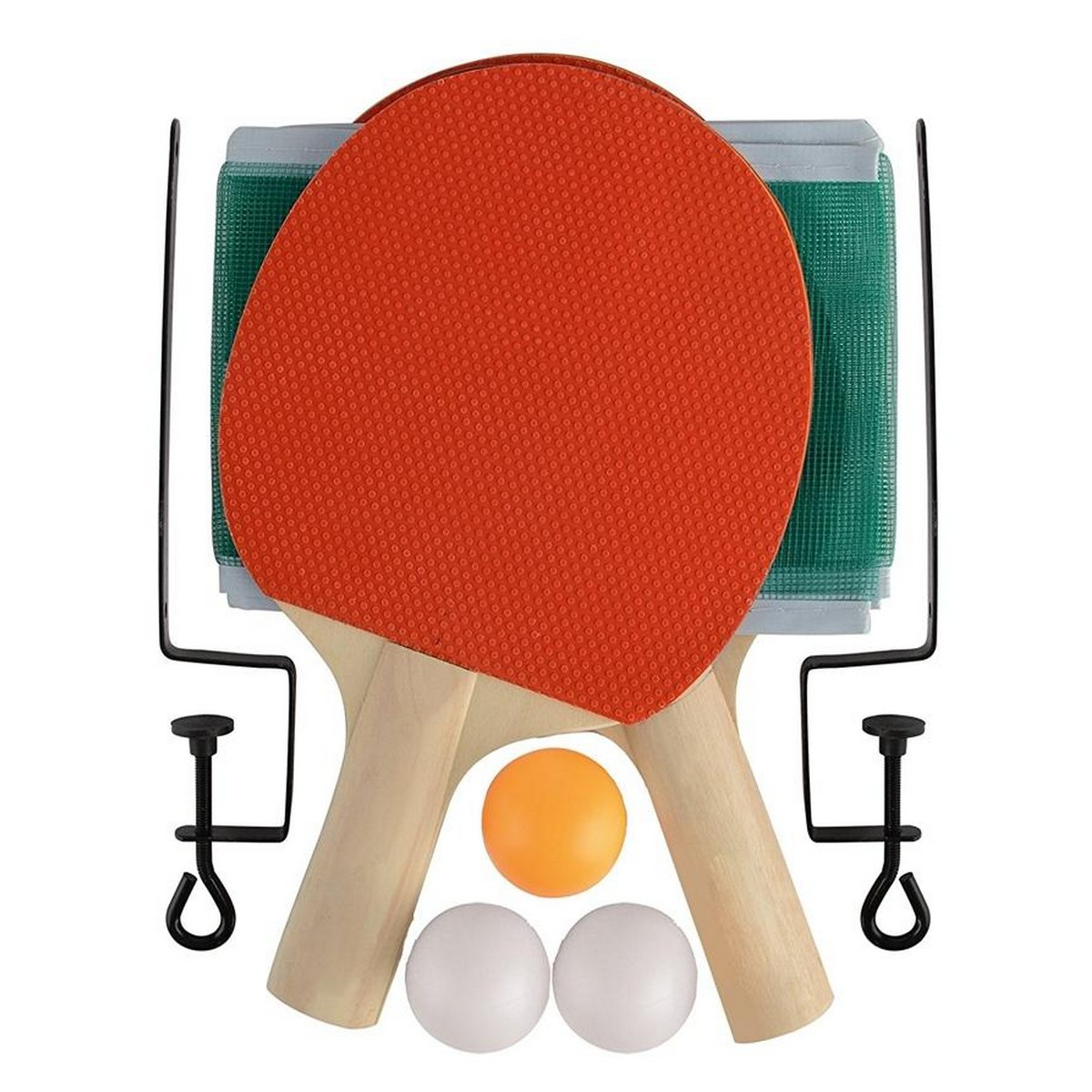 Ping Pong Table Tennis Racket Set With Net And Three Balls For Children, Kids