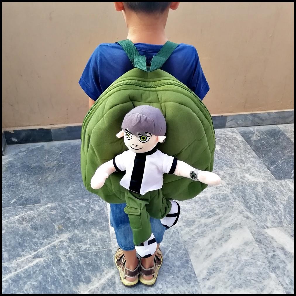 Premium Ben Ten Character Kids School Bag For Boys and Girls