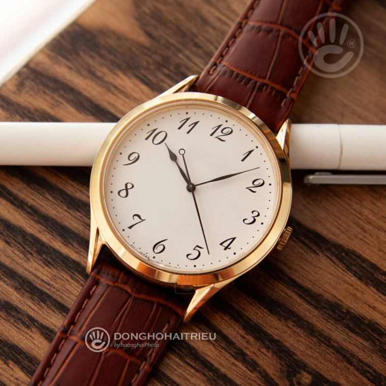 Brown leather Luxury Watch For Unisex Rs. 19