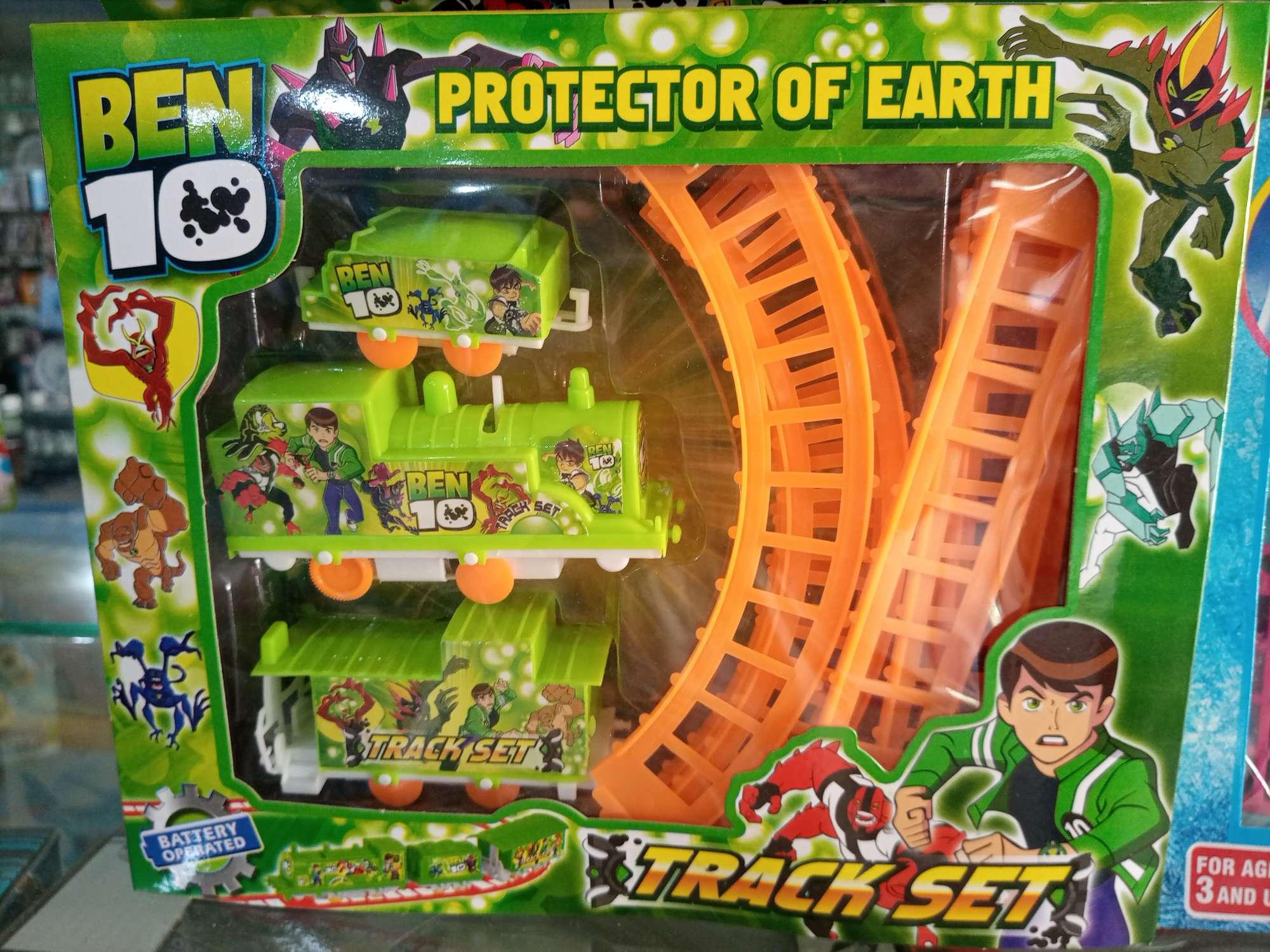Ben 10 Train Track Set For Kids