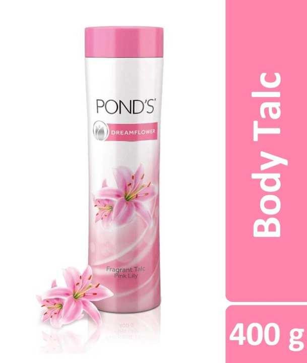 Pond's Dream Flower Fragrant Talc (India) - 400 g