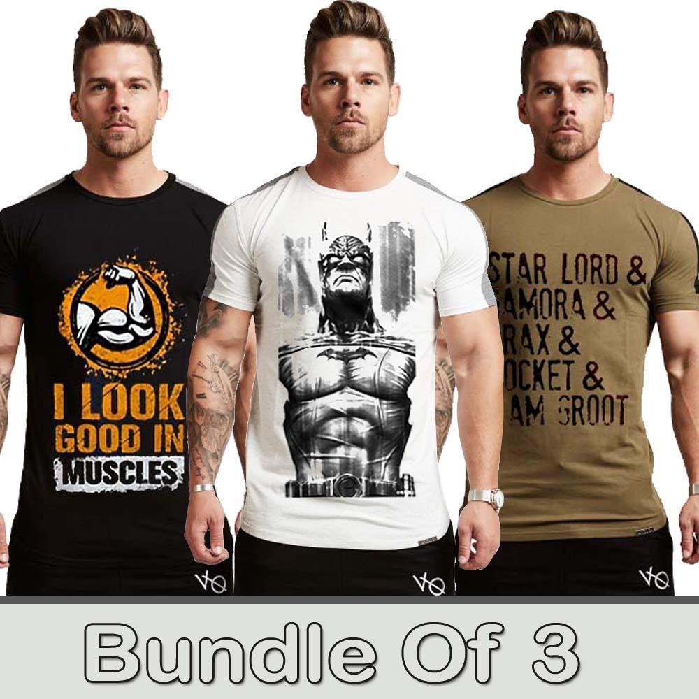 b6498baa9e0f Pack of 3 gym tshirts