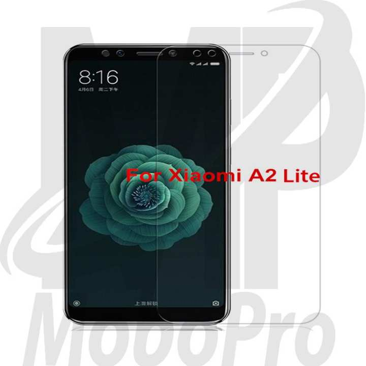 Mi A2 Lite 2.5D Transparent Glass Screen Protector