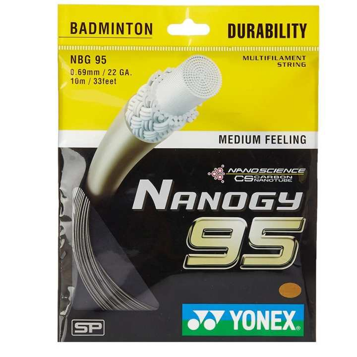 Yonex Bg 95 Strings Guts For Badminton Rackets