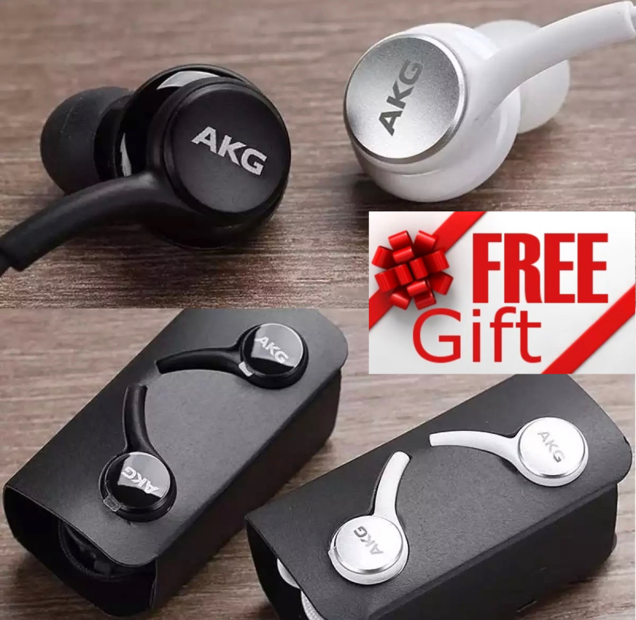 Superb Bass AKG_S10 Earphones Handsfree - 3.5mm Jack - Supported with all devices