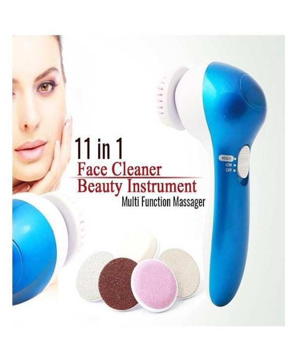 11 In 1 Electric Face Deep Cleanser Callus Remover & Massager Set