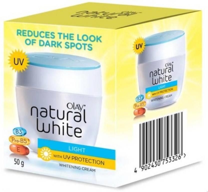 Olay Natural White Light with UV Protection Whitening Cream 50g