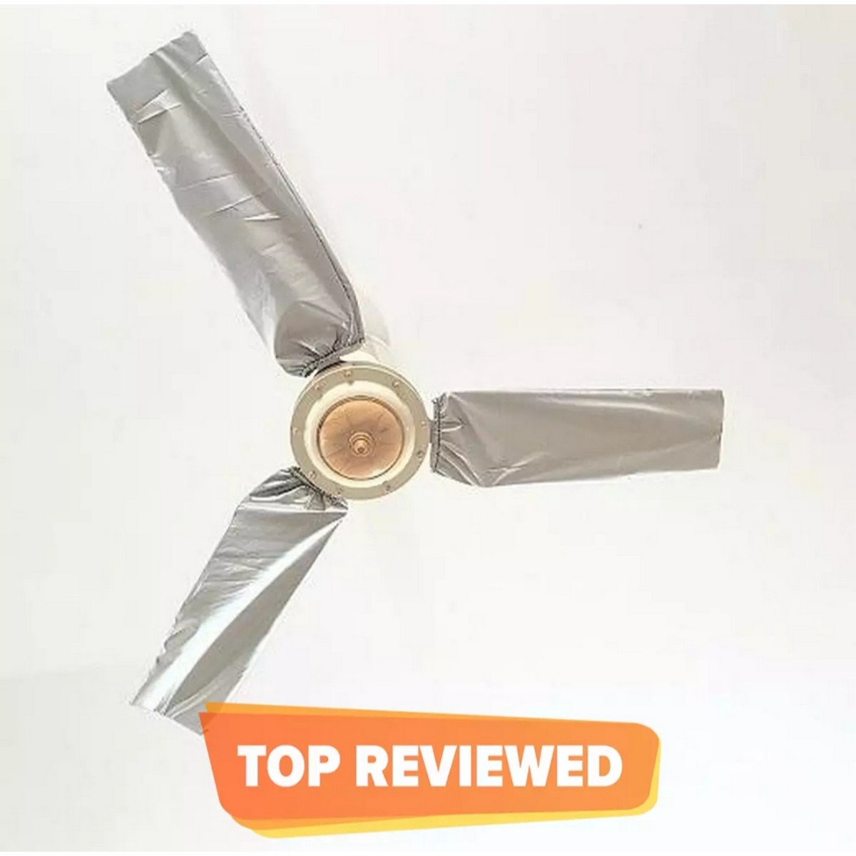 Ceiling Fan Blades Cover - Silver