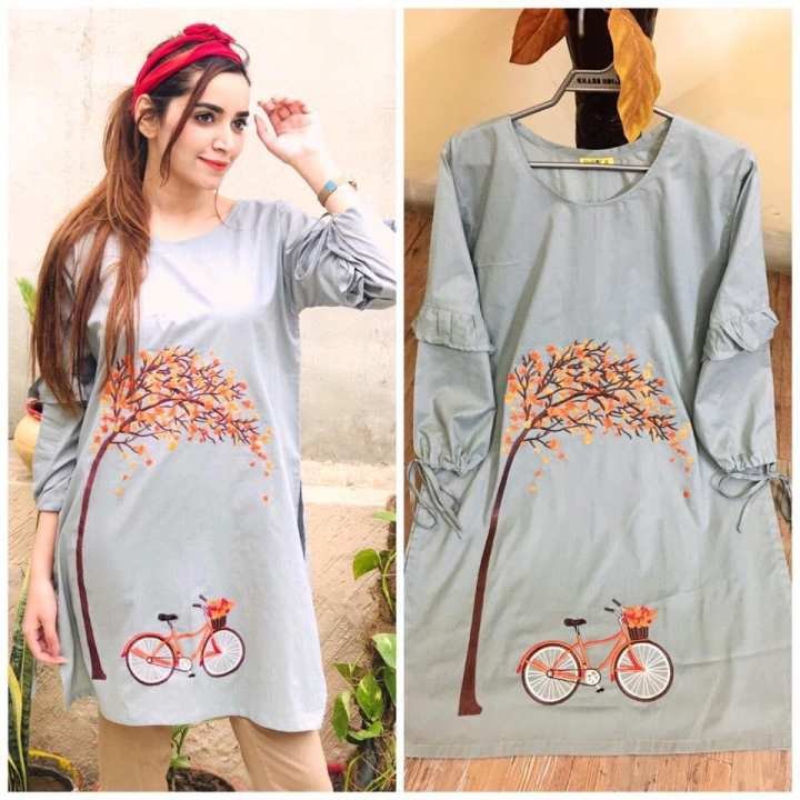 Lollypop Embroidered Kurti For Women
