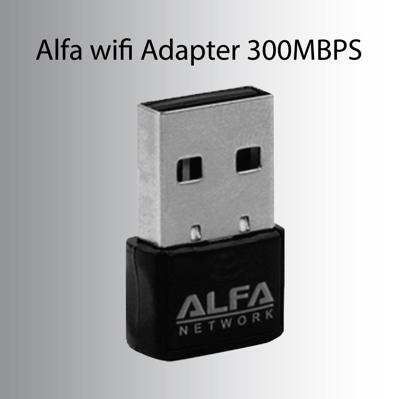Alfa Wifi Mini usb Adapter 300mbps wireless