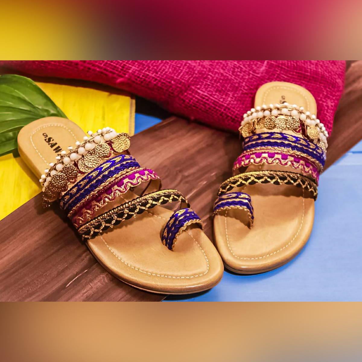 Woman Fashion Shoes Sandals Fancy Stuff Trendy-345