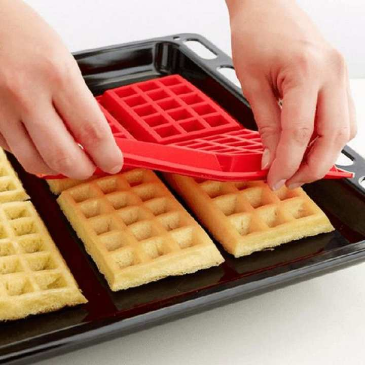 Fancy Waffle Silicone Mould