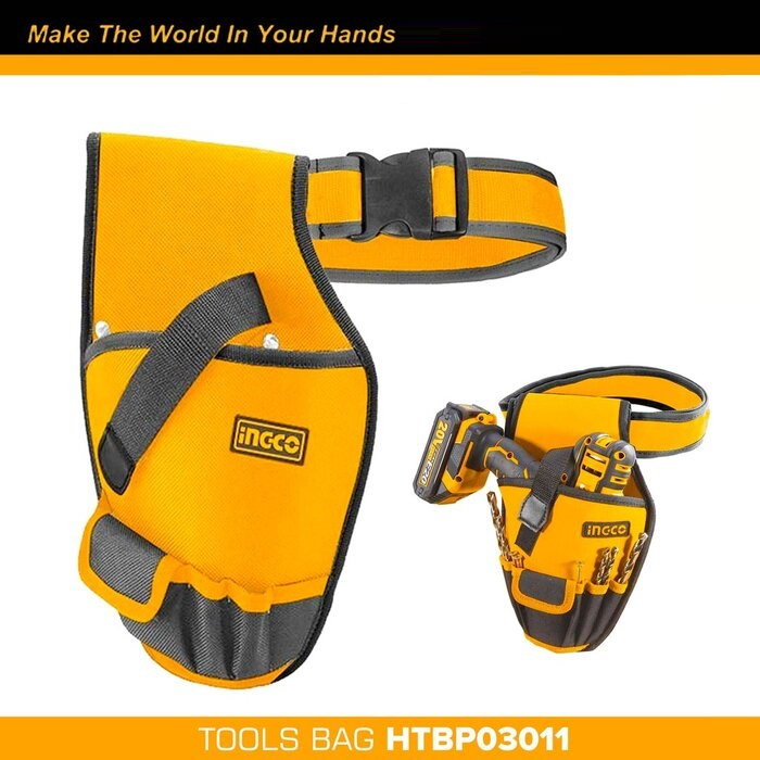 Ingco Waist Tool Bag with 1pc belt