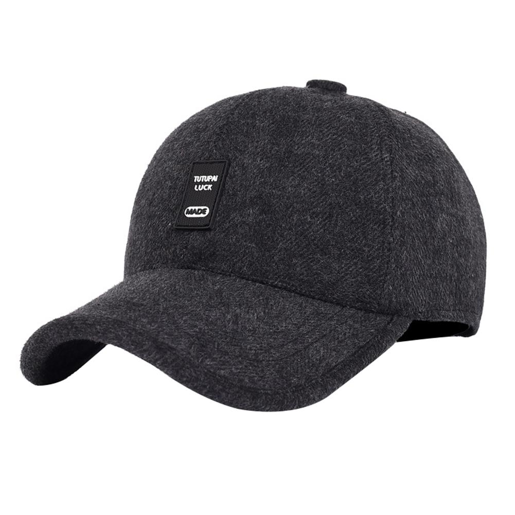 c0317eccecb ECHIDNA Casual Snapback Men Baseball Cap Dad Earflaps Casquette Thicken Warm  Winter Hat