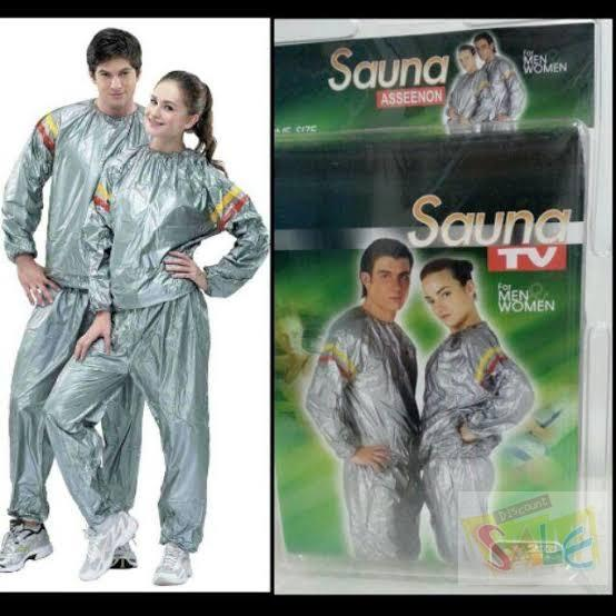 Weight Loss Sauna Suit Sweat Clothes Clothing Men and Women