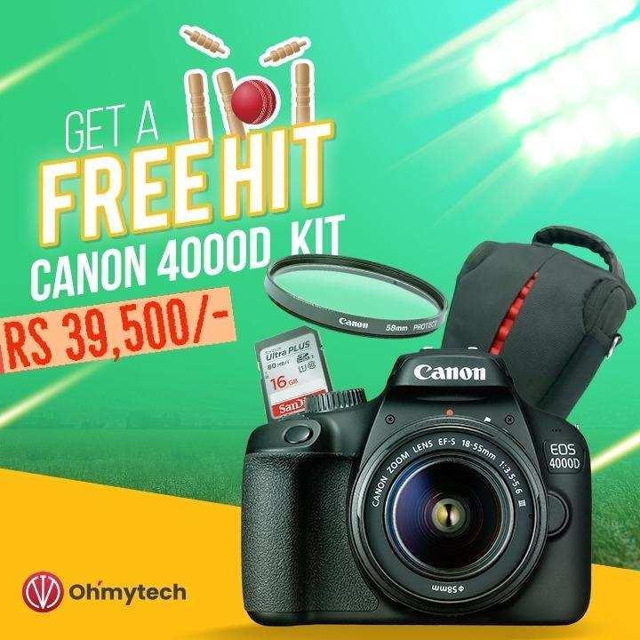 Canon 4000D Kit Combo Offer