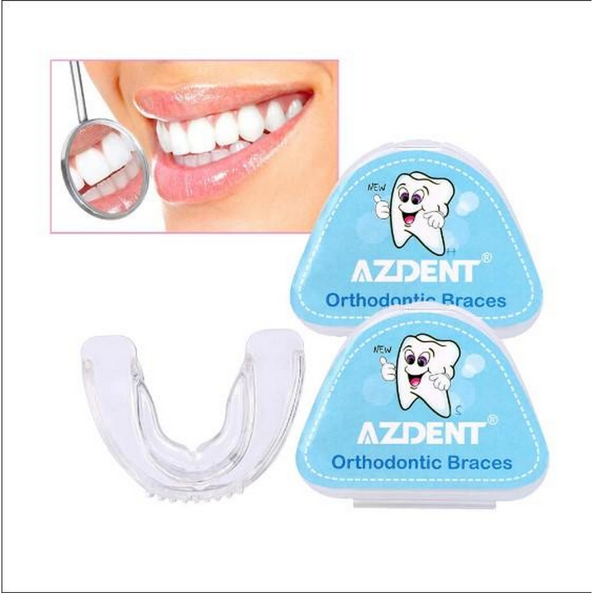 Hard(2nd stage)  Tooth Orthodontic Braces Appliance Dental Braces Silicone Alignment Trainer Teeth Retainer Oral Hygiene Teeth Alignment