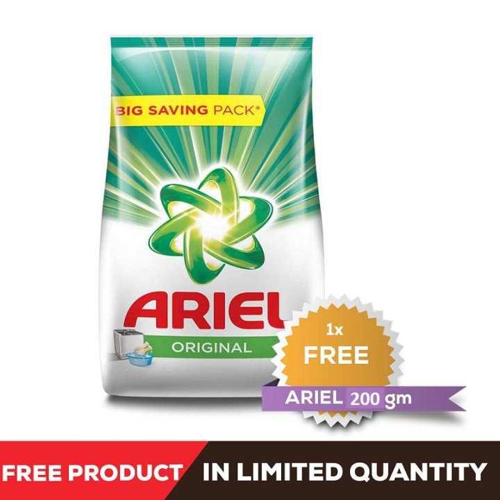 Ariel Original Detergent Washing Powder, 3kg pack