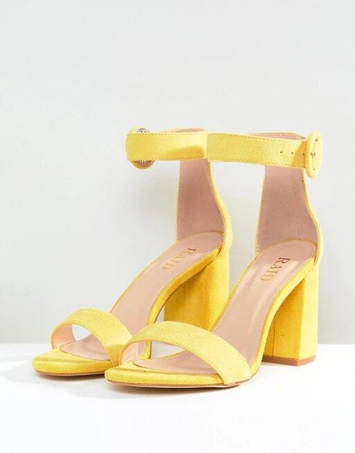 Women Heel Sandals- Block High Heel-Sandals Party Wedding Fashion Shoes