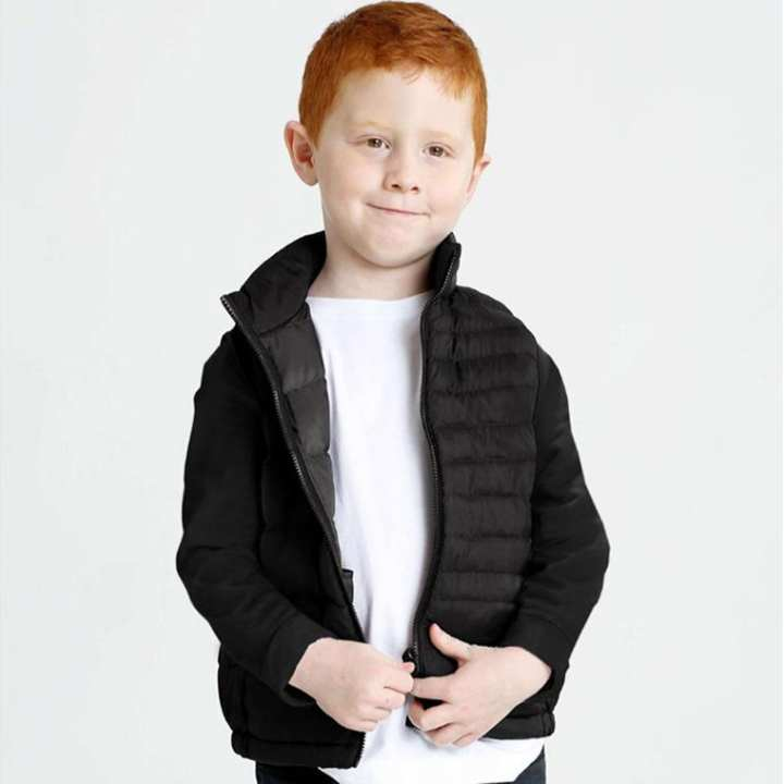 Export Quality Jacket for Kids Lite Puffer Gilet (18-24 months)