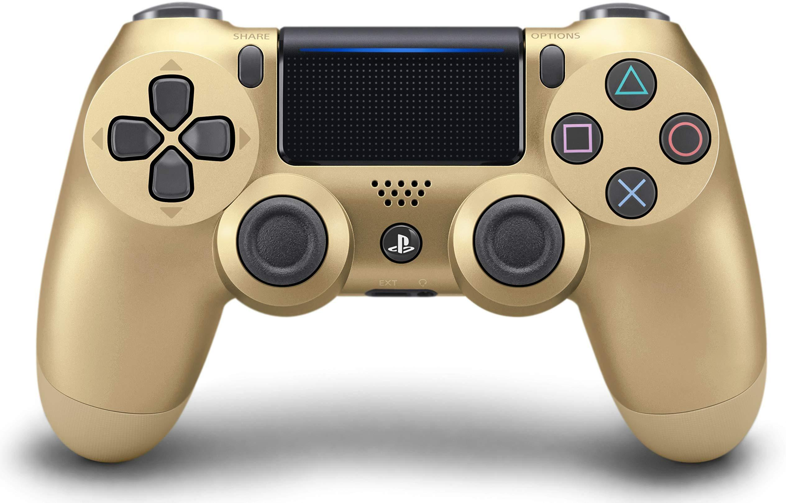 DualShock 4 Wireless Controller for PlayStation 4 - Gold (Refurb)
