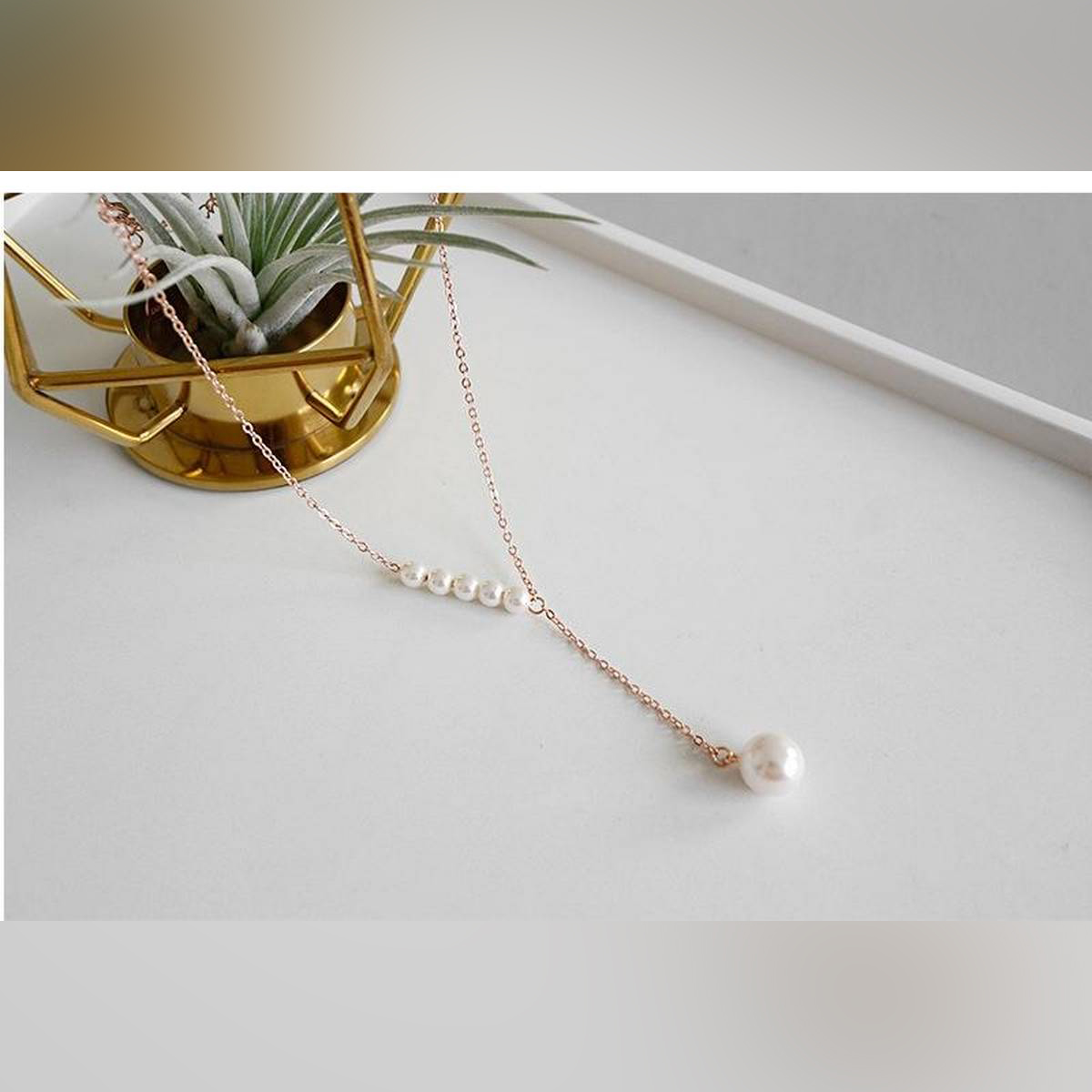 New Stylish Pearls Clavicle Pendant Necklace For Women - New Arrivals